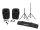 OMNITRONIC Set XFM-212AP + Boxenhochständer MOVE MK2