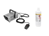 EUROLITE Set N-10 silber + B Basic Nebelfluid 1l
