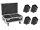 EUROLITE Set 4x AKKU IP UP-4 Plus HCL Spot WDMX + Case mit Ladefunktion
