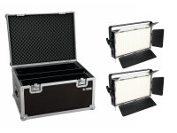 EUROLITE Set 2x LED PLL-360 3200K Panel + Case