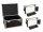 EUROLITE Set 2x LED PLL-360 6000K Panel + Case