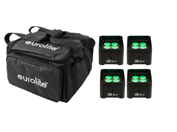 EUROLITE Set 4x LED TL-4 Trusslight + Softbag