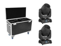 EUROLITE Set 2x LED TMH-X12 + EU Case