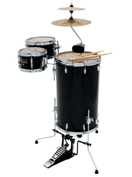 DIMAVERY CDS Cocktail Schlagzeug, schwarz