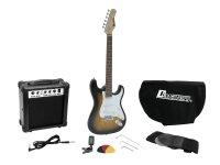 DIMAVERY EGS-1 E-Gitarren-Set, sunburst