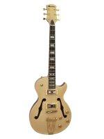 DIMAVERY LP-600 E-Gitarre, natur Ahorn