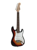 DIMAVERY J-350 E-Gitarre ST sunburst