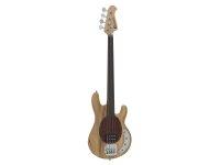 DIMAVERY MM-501 E-Bass, fretless, natur