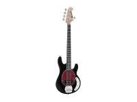DIMAVERY MM-505 E-Bass, 5-saitig, schwarz