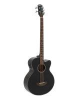 DIMAVERY AB-455 Akustikbass, 5-saitig, schwarz