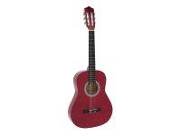 DIMAVERY AC-303 Klassikgitarre 3/4, rot