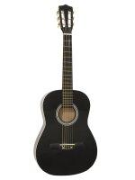 DIMAVERY AC-303 Klassikgitarre 3/4, schwarz