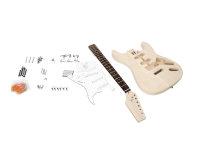 DIMAVERY DIY ST-20 Gitarrenbausatz
