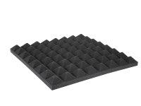 OMNITRONIC Akustikschaumstoff Pyramide 50mm, 50x50cm