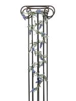EUROPALMS Blütengirlande, künstlich, blau, 180cm