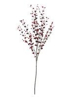 EUROPALMS Eukalyptuszweig, künstlich, rot, 110cm