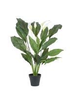 EUROPALMS Spathiphyllum deluxe, künstlich, 83cm
