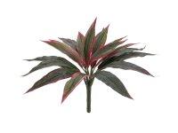 EUROPALMS Dracena, künstlich, rot-grün, 27cm
