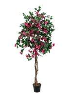 EUROPALMS Bougainvillea, Kunstpflanze, magenta, 180cm