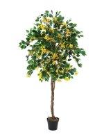 EUROPALMS Bougainvillea, Kunstpflanze, gelb, 150cm