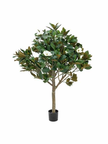 EUROPALMS Magnolienbaum, Kunstpflanze, 150cm