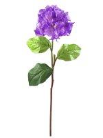 EUROPALMS Hortensienzweig, künstlich,  lavendel, 76cm