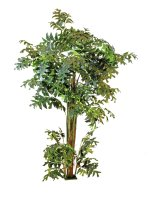 EUROPALMS Fishtail-Palmbaum, Kunstpflanze, 305cm