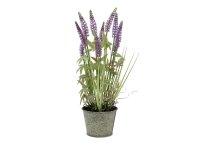 EUROPALMS Lavendelgras, künstlich, 46cm