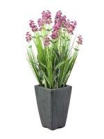 EUROPALMS Lavendel, kunstpflanze, rosé, im...