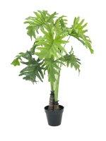 EUROPALMS Splitphilodendron, Kunstpflanze, 90cm