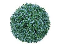 EUROPALMS Graskugel, künstlich,  blau, 22cm