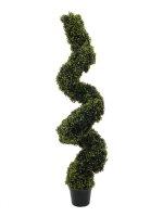 EUROPALMS Buchsspiralbaum, künstlich,   120cm