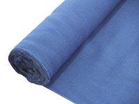 EUROPALMS Dekostoff, Rupfen, blau, 130cm