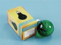 OMNILUX A19 230V/25W E-27 grün