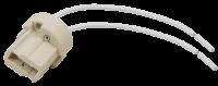 Lampenfassung McShine, G9, rund, für Hochvoltlampen,...