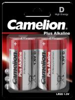 Mono-Batterie CAMELION Plus Alkaline 1,5 V, Typ D/LR20,...