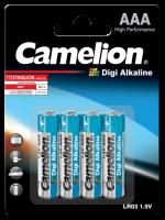 Mignon-Batterie CAMELION Digi Alkaline 1,5 V, Typ AA/LR6,...