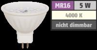LED-Strahler McShine ET50, MR16, 5W, 400 lm, weiß