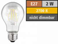LED Filament Glühlampe McShine Filed, E27, 2W, 200...