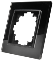 Glas-Rahmen McPower Flair, 1-fach, schwarz