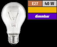 Glühlampe OSRAM, E27, 230V, 40W, klar