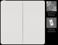 Funk-Wechselschalter McPower, 2-fach, batterielos, max....