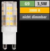 LED-Stiftsockellampe McShine, G9, 3,5W, 300lm, 3000K,...