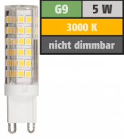 LED-Stiftsockellampe McShine, G9, 5W, 520lm, 3000K,...