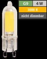 LED-Stiftsockellampe McShine, G9, 4W, 440lm, warmweiß