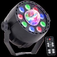 LED-Lichteffekt IBIZA PAR-ASTRO 2-in-1 PAR Strahler und...