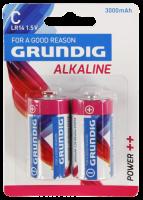 Baby-Batterie GRUNDIG Alkaline, 1,5V, Typ C/LR14,...