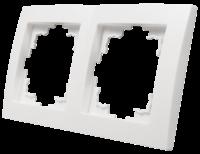 Rahmen McPower Flair, 2-fach, weiß