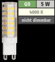 LED-Stiftsockellampe McShine, G9, 5W, 520lm, 4000K,...