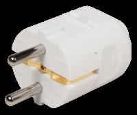 Schutzkontakt-Stecker McPower, weiß